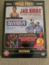 Triple Feature Mega Pack DVD Set:Jailbirds, Maximum Security, Dangerous Orphans