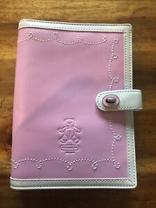 Coach Leather Baby Girl Pink Brag Book Style #2659