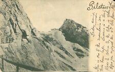More details for switzerland mount pilatus postcard. 1900s. undivided back. rare postage stamp