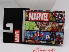 Marvel Comics wallet magan Hero collection gift short purse new