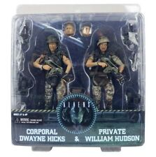 "Neca Aliens Corporal Dwayne Hicks Private William Hudson 7"" action figure 2 pack"