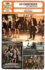 FICHE CINEMA : LES COMMITMENTS - Alan Parker 1991