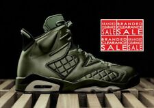 New Men Nike Air Jordan 6 Retro Premium Pinnacle Flight Jacket Green Size 7 8 10