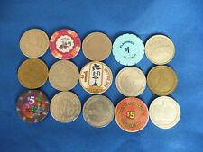 New ListingLot Of 15 Casino Chips - Various Casinos