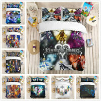 3D Kingdom Hearts Duvet Cover Bedding Set Quilt Cover Pillowcase Comforter Cover