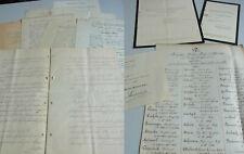 Konvolut Dokumente BERLIN 1873-1950: Generalarzt Hermann SCHUBERT, Sohn Edmund