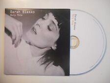 SARAH BLASKO : BURY THIS [CD SINGLE PORT GRATUIT]