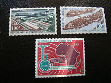 REPUBLIQUE CENTRAFRICAINE - timbre - yt aerien n° 47 48 49 n** (A7) stamp