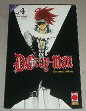 D.Gray - Man vol. 4 - Katsura Hoshino - Planet Manga - Ristampa Ed. Limitata