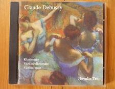Debussy; Klaviertrio / Violinsonate Novalis-Trio TON-ART CD 1996 RAR!