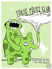 Tokyo Police Club March 2009 Limited Edition Gig Poster