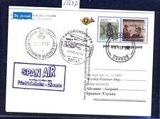 55697) SPAN AIR FF Friedrichshafen - Alicante Spanien 22.3.02, GA ab Zypern