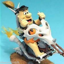 Fred Flintstone Cartoon MOVEABLE Action Figure & Chopper McFarlane Diorama NEW!
