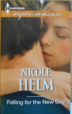 """FALLING FOR THE NEW GUY"" by Nicole Helm (2015, Paperback, Large Type)"