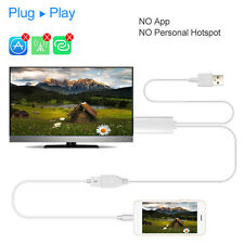 HD Digital Audio Video Adapter Cable TV Stick MHL to HDMI Mirascreen Game Screen