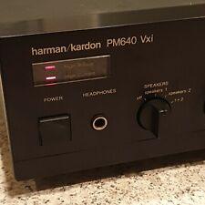 harman/kardon PM640 Vxi Hifi Stereo Vollverstärker