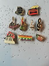 9 Pin's Pins musique note music