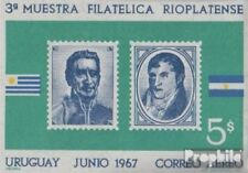 Uruguay block10 (complete issue) unmounted mint / never hinged 1967 philately Ex