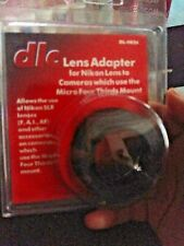 DLC Lens Adapter DL-0826 Nikon F lenses on MFT mount