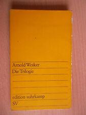 Wesker,Arnold.Die Trilogie/Hühnersuppe mit Graupen/Tag für/Nächstes Jerusalem