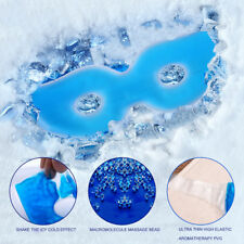 Cold Hot Cooling Gel Ice Eye Care MASK Stress Relaxing Relief Sleeping Head Calm