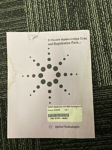 New - Agilent GCMSD MassHunter w. MSD ChemStation - G1701FA (G1701-60251)