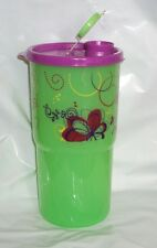 New Tupperware ThirstQuake Mega Tumbler 30 oz On the Go Commuter Cup Green