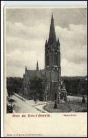 Gross-Lichterfelde Litho-AK um 1900 Berlin Lichterfelde Paulus Kirche Church