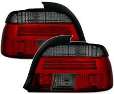 Rückleuchten Set in Rot Schwarz für 5er BMW E39 Limo 95-00 Heckleuchten Klarglas