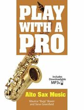 Play With A Pro Alto Sax LEARN to SAXOPHONE Music Lesson Book Online Audio