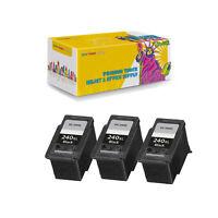 Compatible 3Pcs PG-240XL Ink Cartridge for Canon Fits PIXMA MG2120 PIXMA MG2220