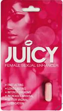 Juicy Female Sexual Enhancer Sex Pill- Chosse Quantity - Fast Free Shipping