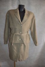 ENSEMBLE TAILLEUR VESTE + JUPE BURBERRY'S  TAILLE 42/XL JACKET/GIACCA/SKIRT
