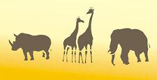 Schablone, Dekorschablone, Wandschablone, Malerschablone, Stencils,  Africamix