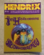 Jimi Hendrix Experience Book Music Song Guitar Bass  Are You Experienced 1989