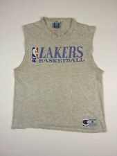 Vtg 90's Champion Los Angeles Lakers Sleeveless Shirt Vintage 1990's
