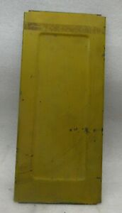 """DELTA 6"""" X 48"""" BELT SANDER REAR BELT COVER - PAINTED AN UGLY YELLOW"""
