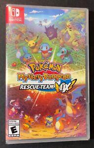 Pokemon Mystery Dungeon [ Rescue Team DX ] (Nintendo Switch) NEW