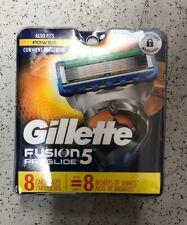 Gillette Fusion5 Proglide  8 Cartridges  FITS POWER ~ Men Fusion Razor 5 Blade