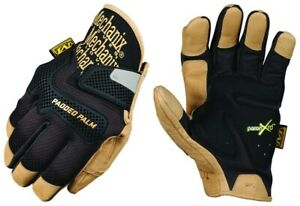 Mechanix Wear CG PADDED PALM Reinforced Leather Work Gloves XL X Large CG2575011