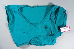 Wicked Weasel 396 Matt Lycra Crop Bikini Top Oceania XL