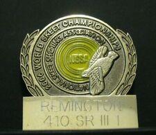 Nssa World Skeet Championships 2006 Award Pin Quail Bird Remington 410 Sr Iii 1