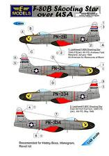 LF Models Decals 1/48 LOCKHEED F-80B SHOOTING STAR Jet Fighter with Paint Masks