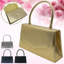 Lady Handle Clutch Bag Evening Prom Bridal Party Prom Handbag Wedding Purse Tote