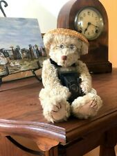 Vintage Photographer Teddy Bear with glasses - collectors