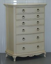 WILLIS GAMBIER IVORY COLLECTION LARGE CHEST OF DRAWERS PART OF SUITE MUST SEE