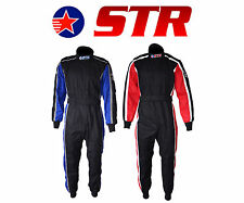 STR Evo Pro Race Suit Double Layer SFI Approved 3.2A/5 and Proban Treated