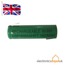 RECHARGEABLE AA TAGGED 1.2v 1600mAh NICKEL METAL HYDRIDE CELL BATTERY