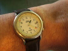 Vintage TIMEX Indiglo Alarm Wristwatch  New Battery RUNNING for Use Parts