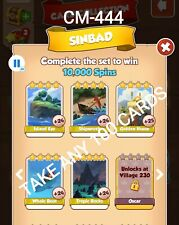Sinbad Coin Master Take Any 100 Cards